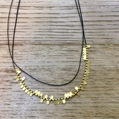 Yeralis Necklace goldplated