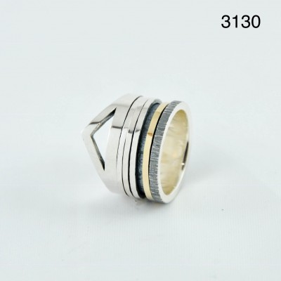 K.And ring 3130
