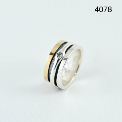 K.And ring 4078